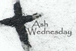 Ash Wednesday is March 1st